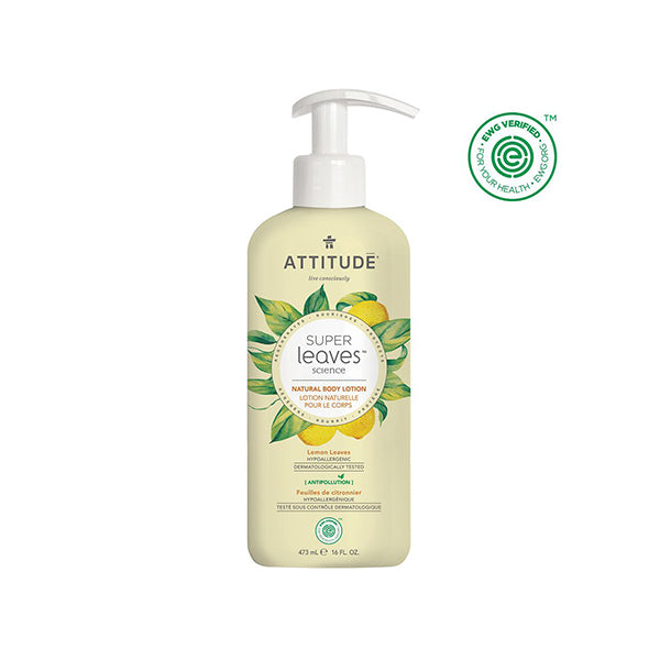 Attitude - Super Leaves Regenerating Body Lotion