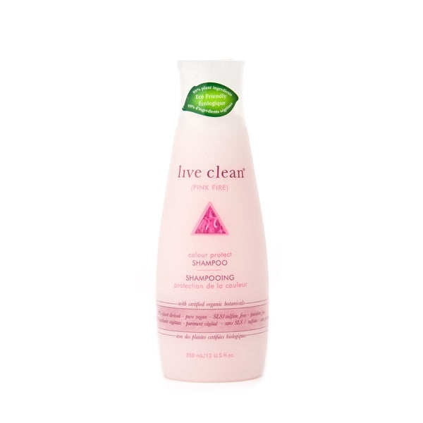 Live Clean - Pink Fire Colour Protect Shampoo