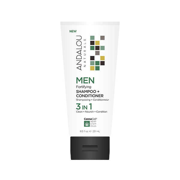 Men's Fortifying Shampoo + Conditioner