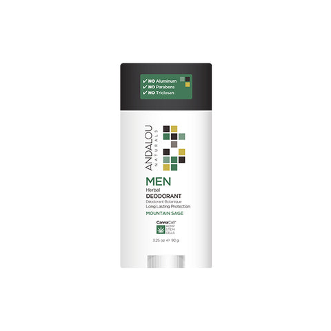 Men's Mountain Sage Herbal Deodorant