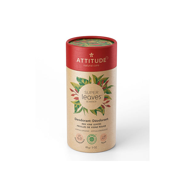 Attitude - Super Leaves Deodorant Red Vine Leaves