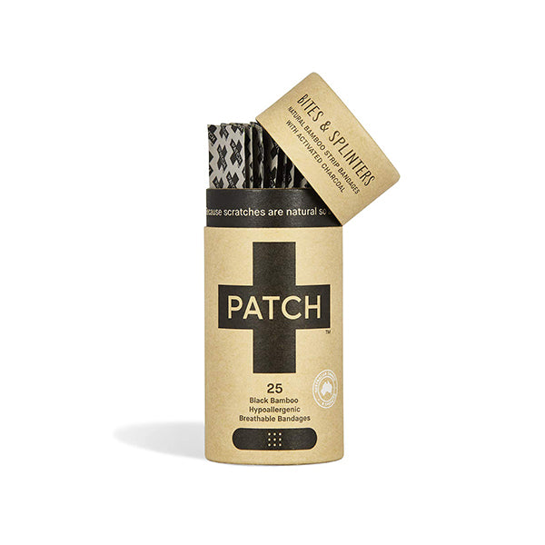 Patch - Charcoal Organic Bamboo Strip Bandages