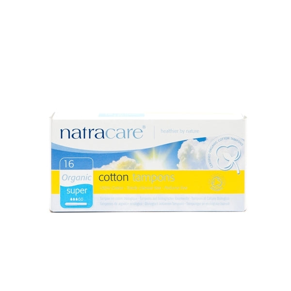 Natracare - Tampons with Applicator Super 16 pk