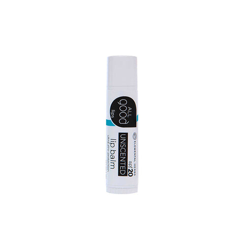 Unscented Lip Balm SPF 20