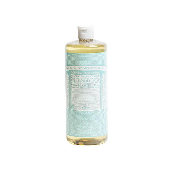 Dr. Bronners - Castile Liquid Soap Unscented Baby Mild