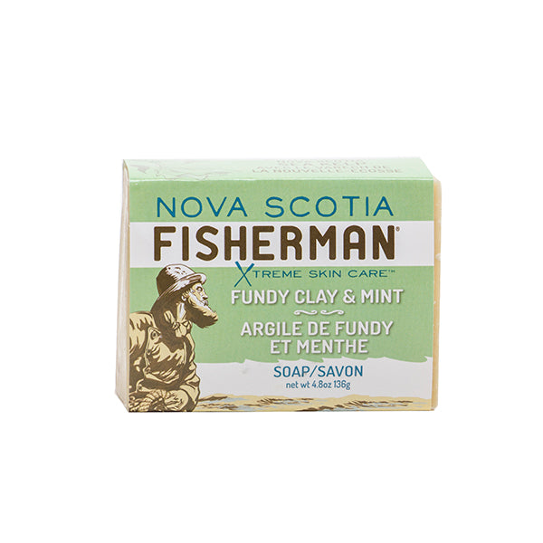 Fundy Clay & Mint Soap Bar
