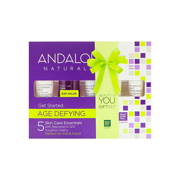 Andalou - Age Defying Skincare Essentials Set