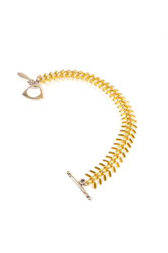 Bracelet Collection FISH SLEEK GOLD