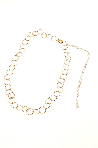 Necklace VIRGI GOLD SHORT