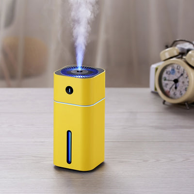 Ultrasonic air humidifier Aroma diffuser with LED night light
