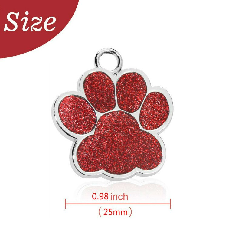 Anti-lost Custom Dog ID Tag Engraved Pet Dog Collar
