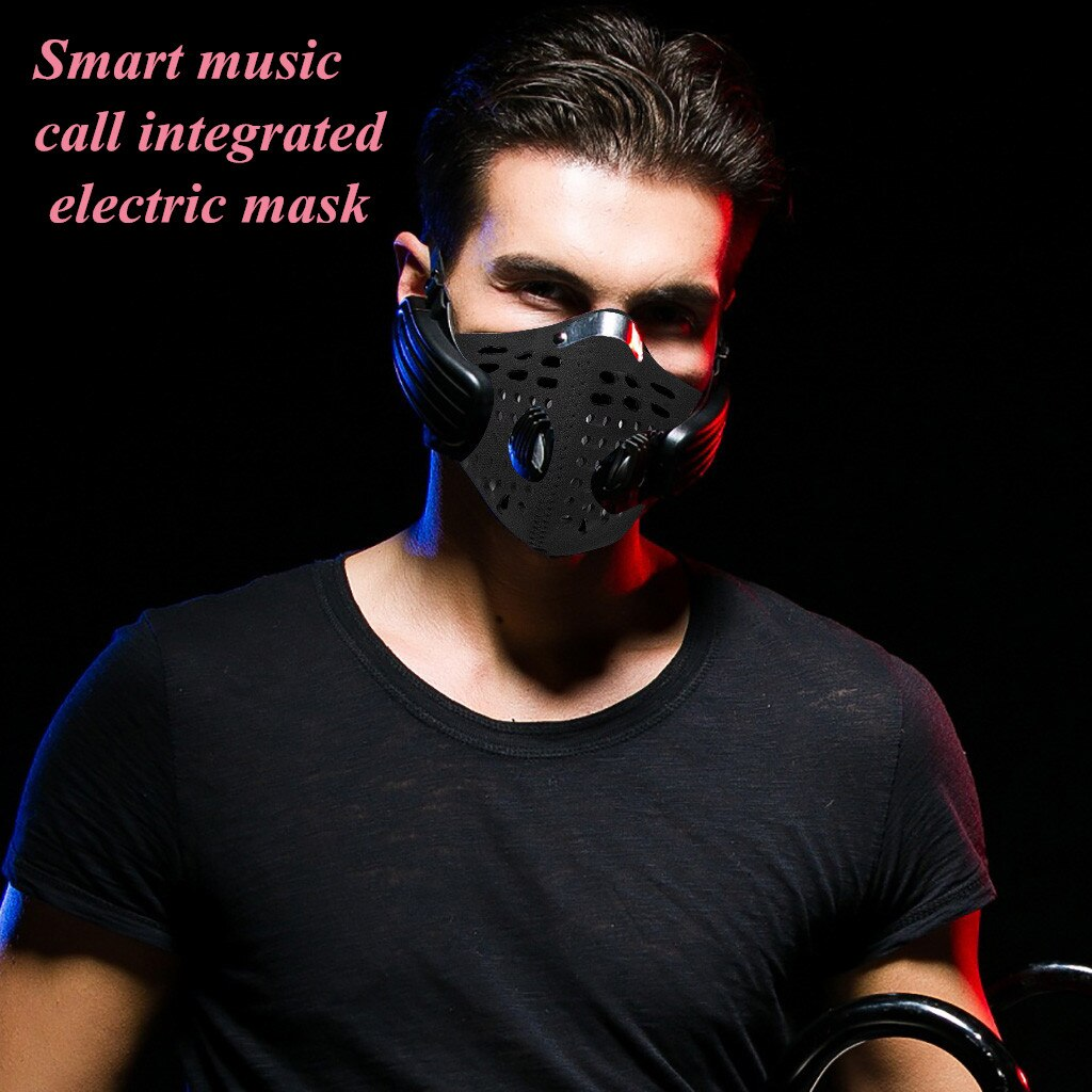 NEW Bluetooth Smart Music Mask Headset Support Call Reusable Masks