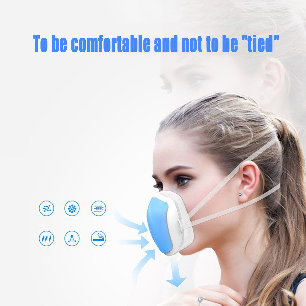 Smart Electric Anti-Fog And Air Purification Mask Respirator