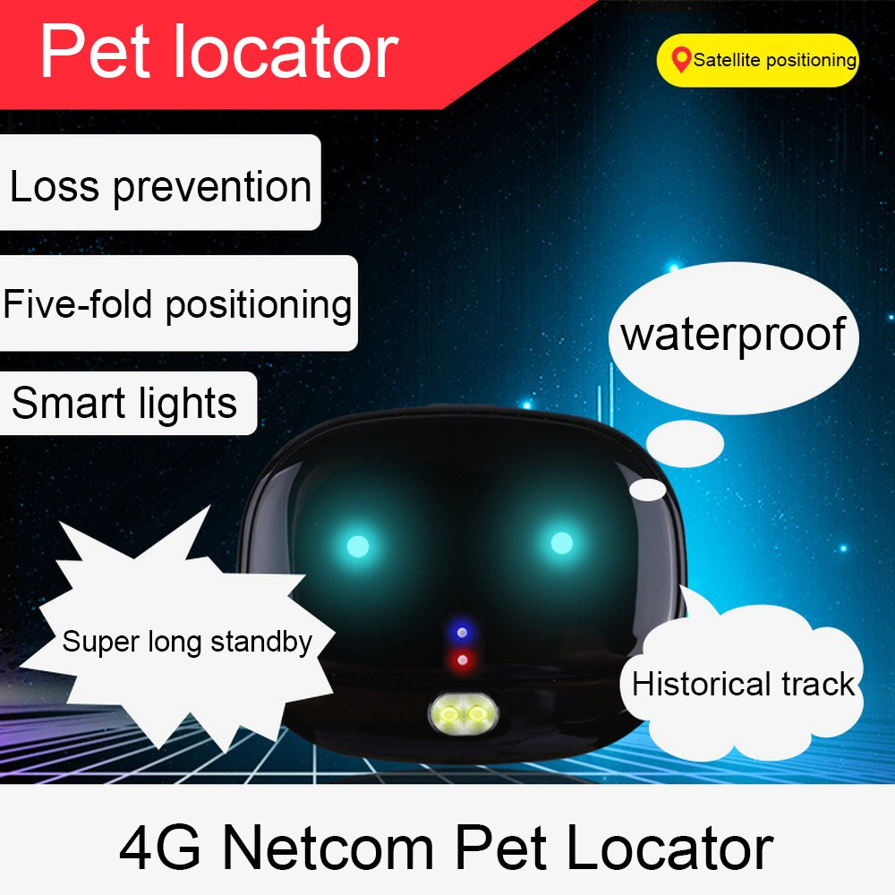 4G GPS Pets Tracker Waterproof