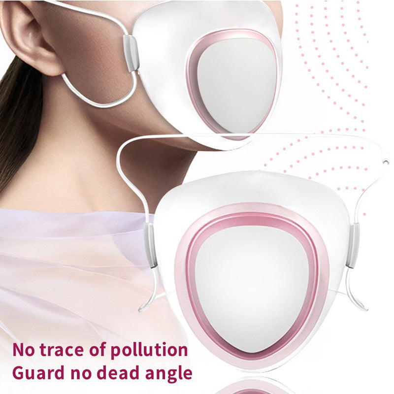 Smart Electric Anti-Fog Air Purification Respirator Automatic Fresh Sports Leisurely Senior Dustproof Face Mask
