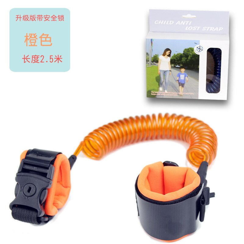 Baby Strap Rope Outdoor Walking Hand Belt Band Anti-lost Wristband Kids