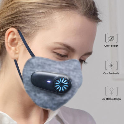 Rechargeable Smart Mask Breathing Valve Dustproof