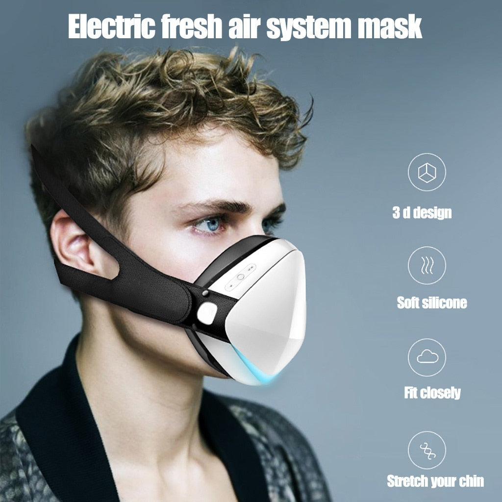 Smart Electric face mask Scarf Dustproof