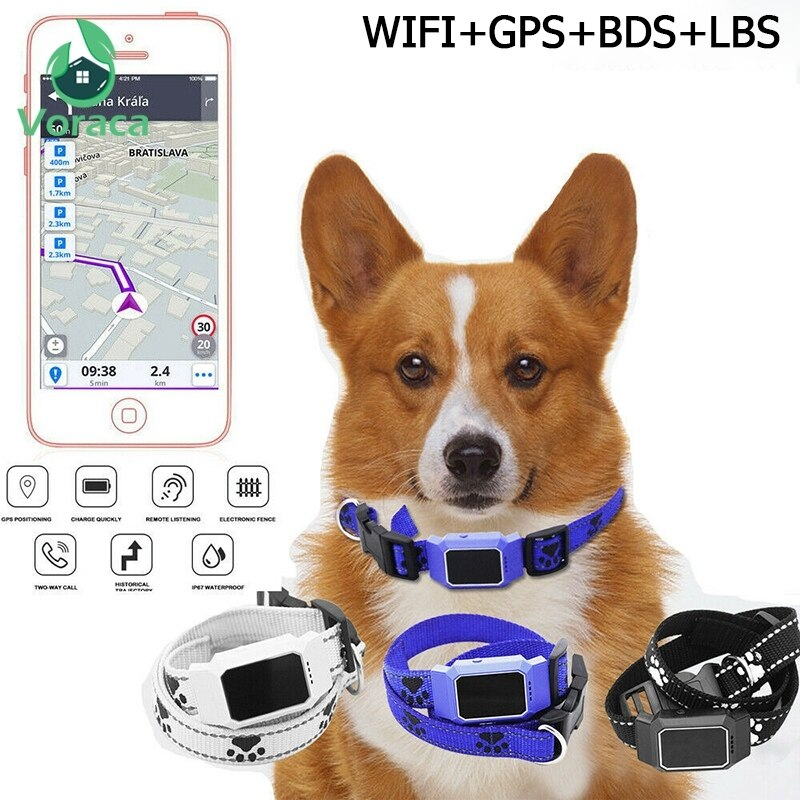 Pet Anti-Lost Tracer Smart Mini GPS Tracker Waterproof
