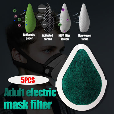 5PCS Adult Deluxe Edition Smart Electric Mask