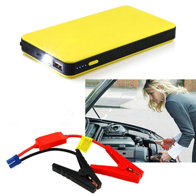 Multifunctional Portable Emergency Power Bank - Jump Starter For Laptop and Car