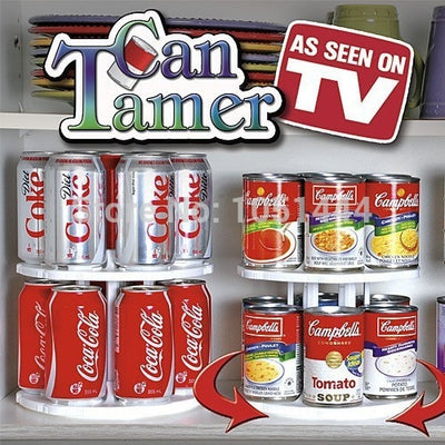 Tier Can Tamer Space Saver Organizer