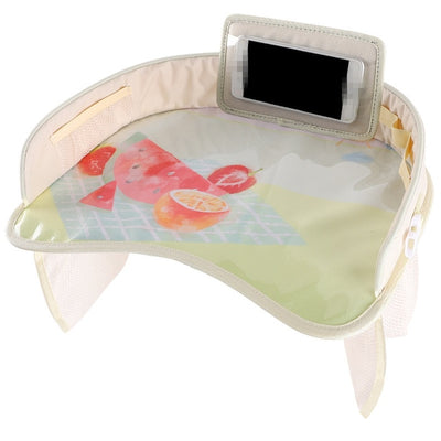 Multifunctional Cartoon Car Seat Table With Cellphone Holder