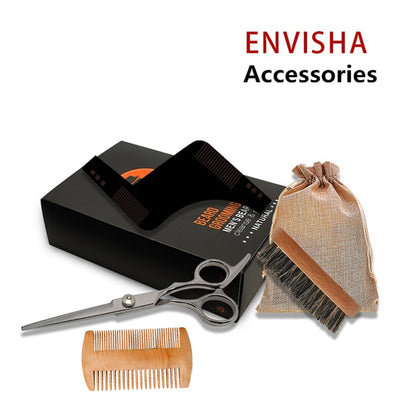 7pcs/set Men Barber Beard Styling Kit