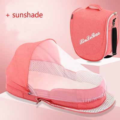 Multifunction Portable Travel Baby With Breathable Mesh