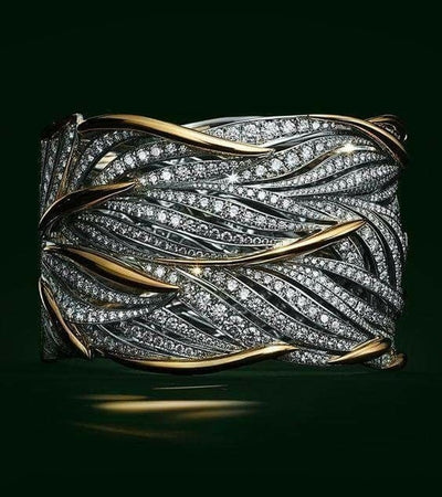 Big Band Wing Feather Ring