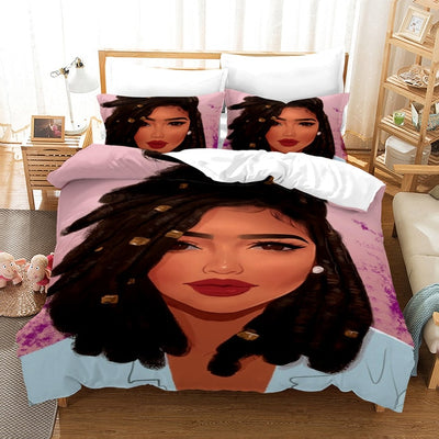 New Sexy Hot Girl Summer Bedding Set Duvet Cover for Adults