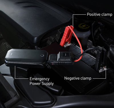 Baseus Car Jump Starter Battery Power Bank Portable 12V