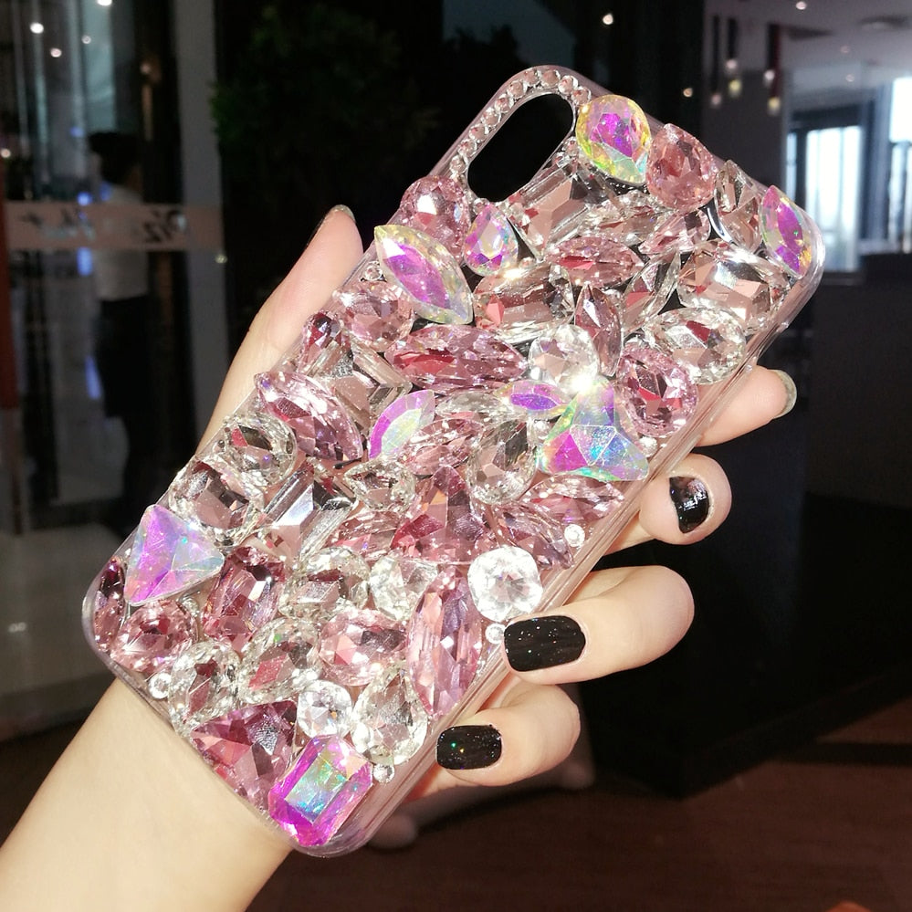 Luxury Crystal Gem Rhinestone Cases For iphone
