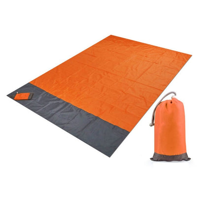Portable Picnic Beach Mat Pocket Blanket Waterproof