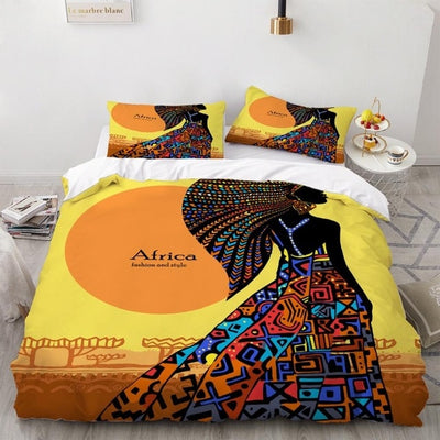 Africa Women Printed Bedding Sets