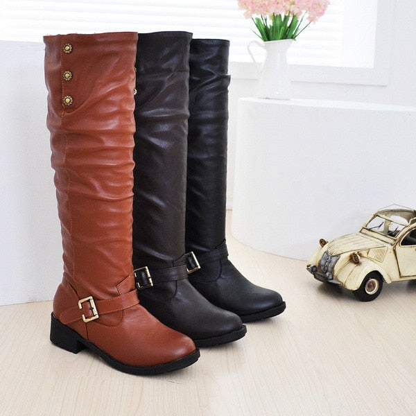 Sexy Chunky Winter Boots
