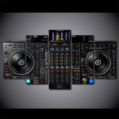 DJ TECHNO 5PCS Canvas