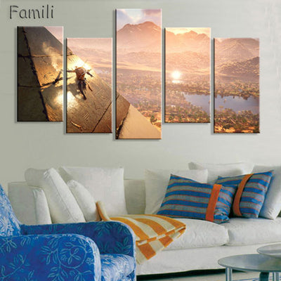 Great Sphinx of Egypt 5PCS Canvas