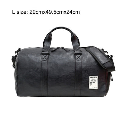 Trendy Leather Sport Bag