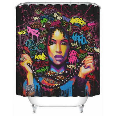 Fly Girl Shower Curtains