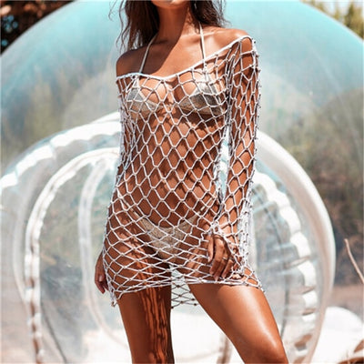 Fishnet Bikini Cover Up