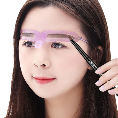 Reusable 8 in1 Eyebrow Shaping Stencil Kit