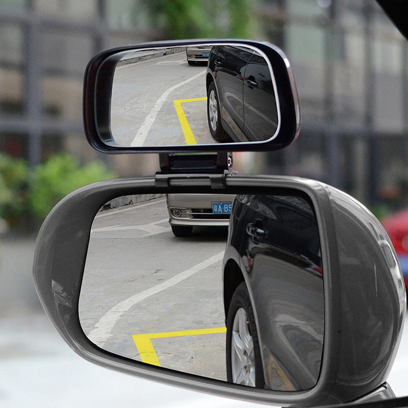 Vehicle Blind Spot Adjustable Mirror