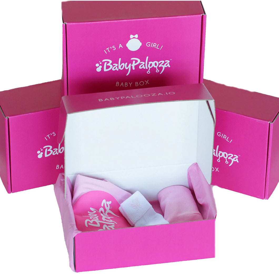 Baby's First  Newborn Gift Box [It's a Girl]