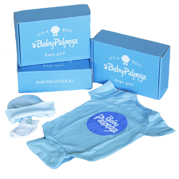 Baby's First Newborn Gift Box [It's A Boy]