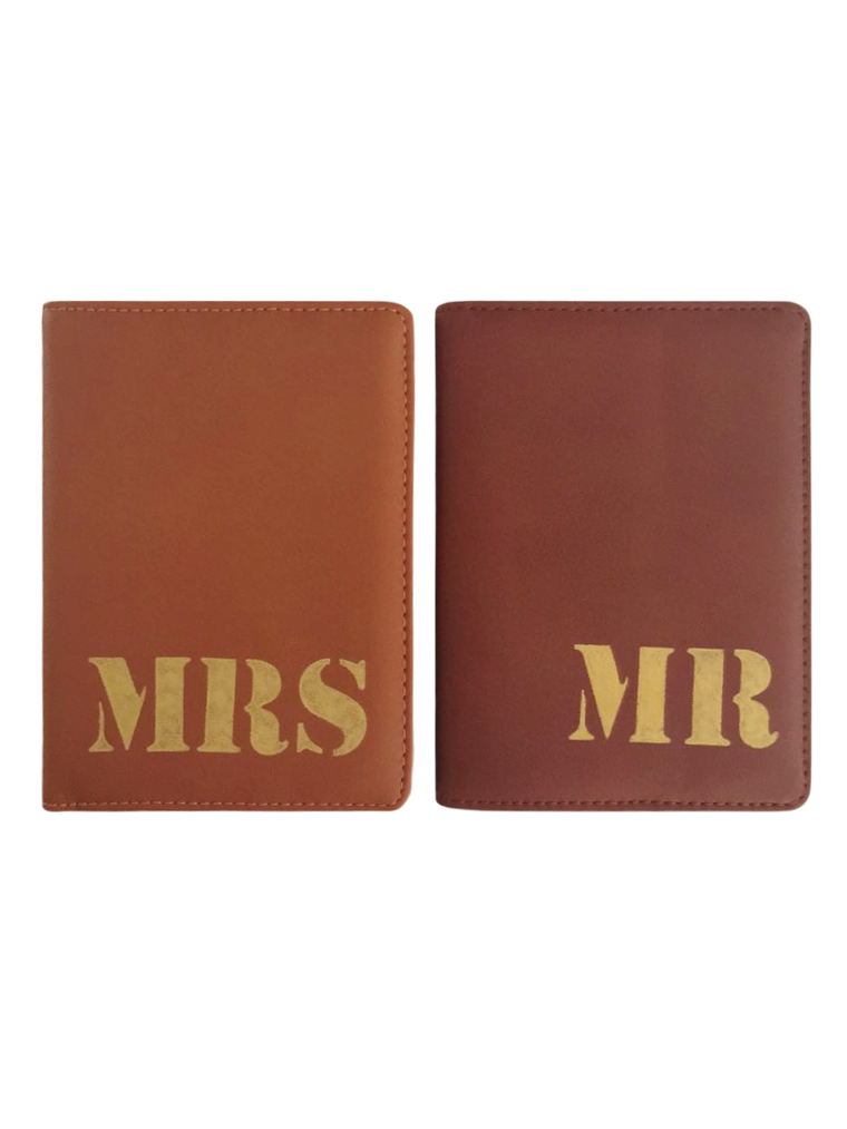 Reisepasshüllen - Mrs & Mr Brown