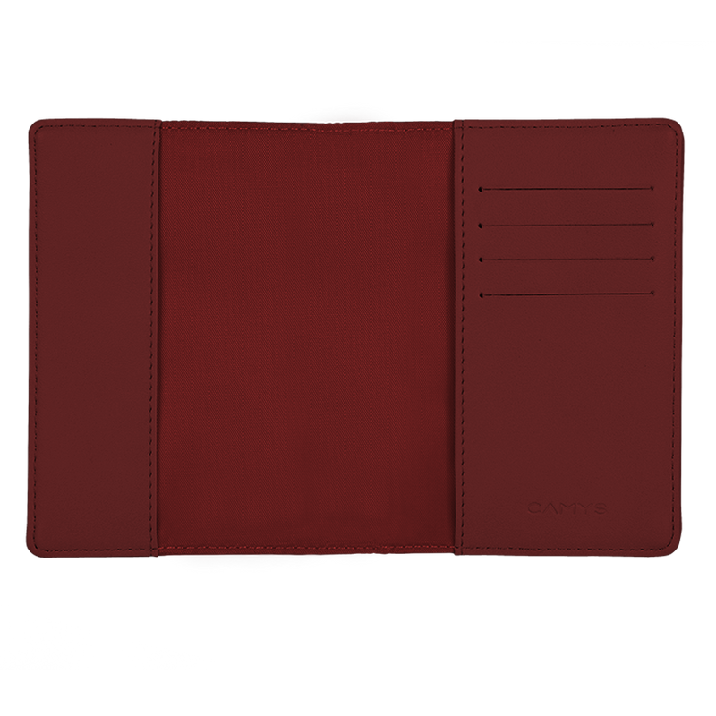 Notizbuch burgundy red