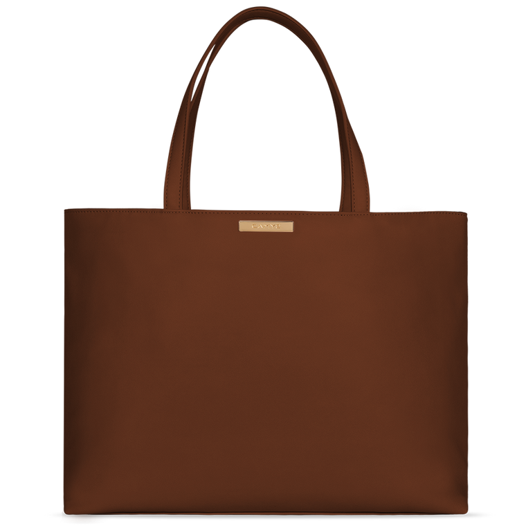 Shopper chocolate brown