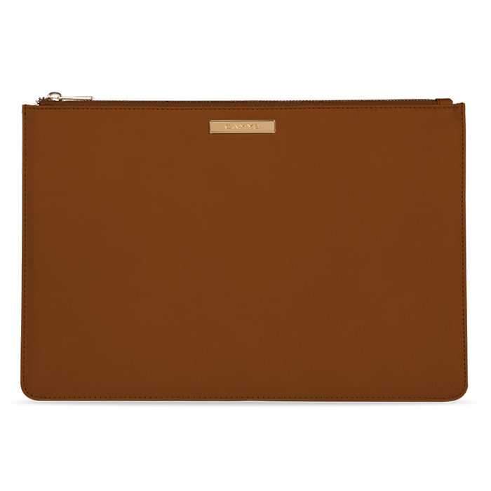 Organizer cognac brown