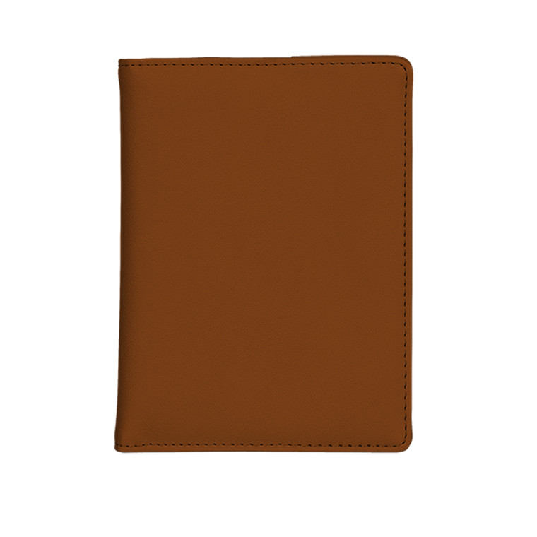 Notizbuch cognac brown